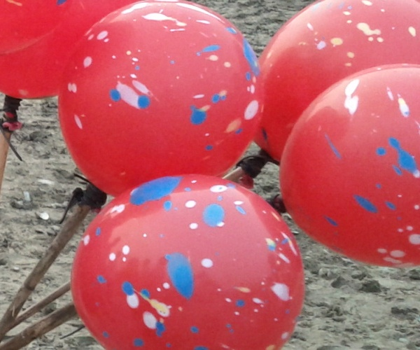 Red Balloons on Children's Day