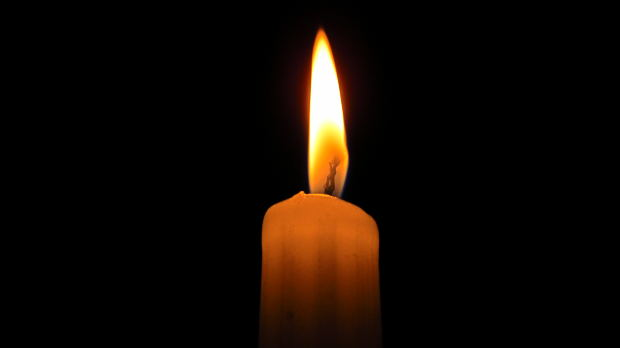 Remembrance Candle Flame