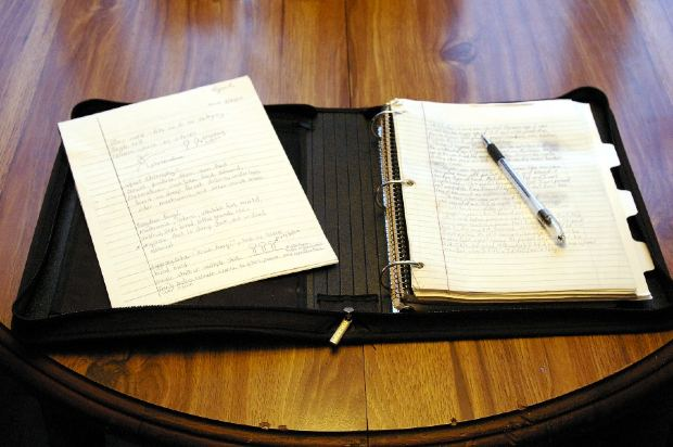 Funny-Short-Story-Work-diary-with-pen-on-table
