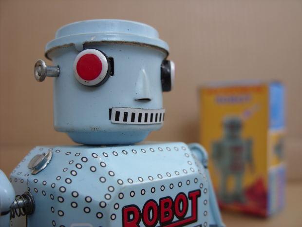 blue-robot