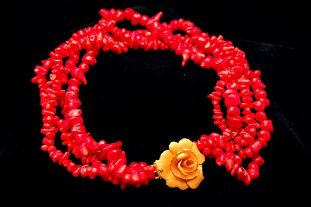 necklace-red