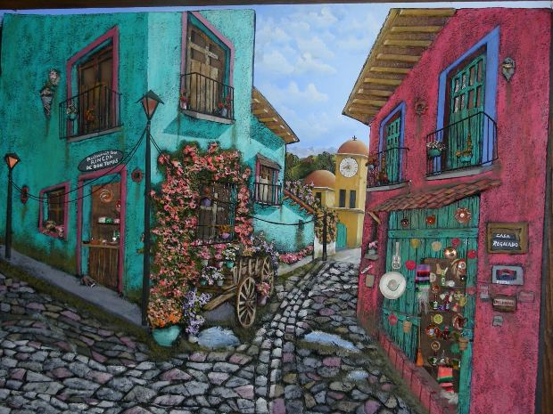 painting-old-city
