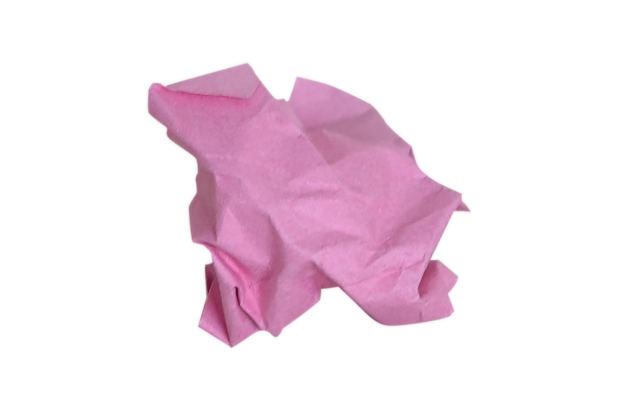crumple-pink-paper-floor